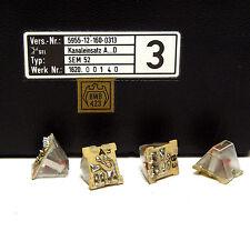 Kanaleinsatz A...D für SEL SEM52 / SEM 52 Funkgerät, Quarz-Set A3 bis D3, NOS
