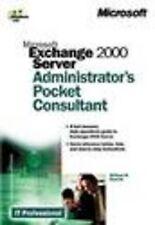 NEW Microsoft® Exchange 2000 Server Administrator's Pocket Consultant
