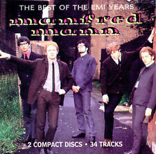 The Best of the EMI Years, Manfred Mann,Very Good, ### Audio CD with artwork-com