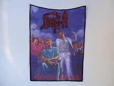 DEATH SPIRITUAL HEALING SUBLIMATED BACK PATCH