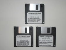 Kurzweil K2500/K2500R OS and Object Files on Floppy Disk - units with KDFX