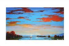 "Mariya Martirosyan! ""Into The Sunset"" LTD ED Giclee on Canvas #20 of 55"