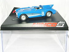 NINCO 50636 SLOT CAR CHEVROLET CORVETTE '56 SR-2 #8 BLU MB