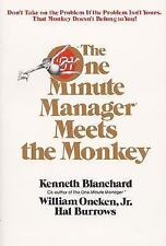 The One 1 Minute Manager Meets the Monkey Kenneth Blanchard paperback book