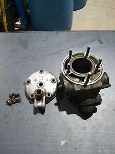 1988 Yamaha YZ 125 complete cylinder, head & power valve