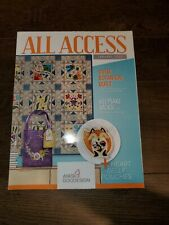 Anita Goodesign All Access VIP Club January 2020 Embroidery Design CD & Book