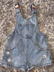 zara girls age 5 Dungaree Shorts
