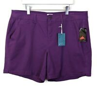 New Stitch Fix | Market & Spruce Purple Shorts - Size 22W - New With Tags!