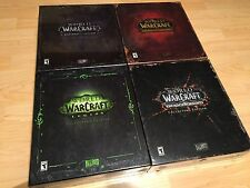 World of Warcraft Collector's Edition Cataclysm Legion Mists of Pandaria +++ NEW