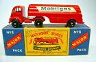 "Major Pack M8A Mobilgas Tanker sehr seltene schwarze Räder top in ""B5"" Box"