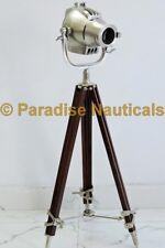 Nautical Spot Searchlight Tripod Floor Lamp