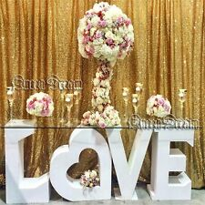 7Ft x 7Ft Gold Sequin Photography Backdrop Curtain for Party Decoration