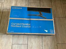 """New Samsung 32"""" FHD Curved LED Monitor Eye Saver Flicker Free AMD FreeSync HDMI"""