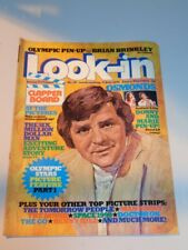 LOOK-IN BRITISH WEEKLY MAGAZINE #30 17TH JULY 1976 OSMONDS TOMORROW PEOPLE