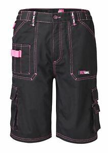 Work Kit Girl Womens - Work Shorts - Black