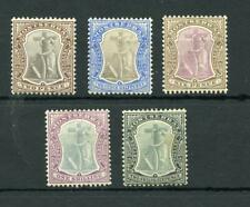 Montserrat 1904-08 values to 2/6 MM cat £99