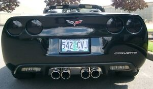 05-13 C6 Chevrolet Corvette Rear Taillight Blackout Kit - Blackouts Z06 ZO6 ZR1