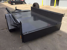 BRAND NEW  8X5 Box Trailer single axle Heavy duty front & rear gates led lights