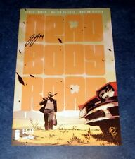 DEAD BODY ROAD #1 signed 1st print JUSTIN JORDAN iMAGE SKYBOUND comic NM COA