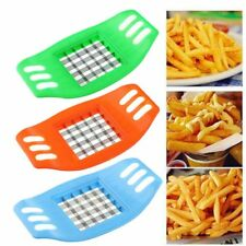 Acier Inoxydable crinkle cutter outil pour Potato Chip pâte végétale Vendeur Britannique