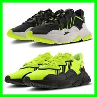 Adidas Ozweego Mens Black White Solar Yellow Shoe Trainer Sneaker Size 6.5-12.5