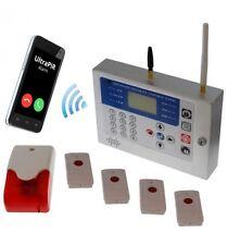 H/D alarma de pánico inalámbrico KP GSM (con SIM)