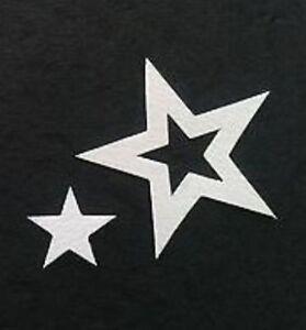 Stix2 15 Pack  Die  Cut White Stars In 250g Card