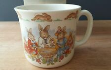 Royal Doulton - Bunnykins Peter Rabbit Wedgewood Cup Christening Gift - 1984