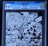 MARVEL POINT ONE #1 💥 CGC 9.6 💥 Nick Bradshaw Sketch Variant ~ 1st New Nova!