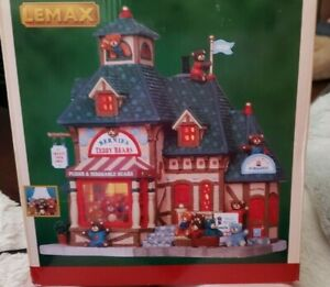 Lemax Signature Collection Bernie's Teddy Bears Lighted Building - 2011