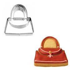 Ausstecher Ausstechform Handtasche Edelstahl 5 cm H3