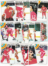1978 Topps Team SET lot of 16 Detroit RED WINGS NM/MT HEXTALL POLONICH LARSON