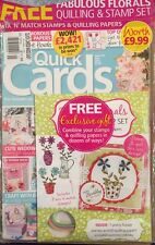 Quick Cards Free Stamps Quilling Paper Expert Advice July 2015 FREE SHIPPING!