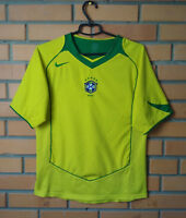 Brazil Jersey 2004 2006 Home SMALL Shirt Nike Brasil Football Soccer Trikot