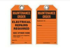 Idesco 25pk T1-25 Maintenance Safety Tag - Electrical Repairs Required