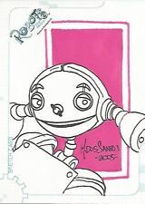 """Robots The Movie - SK6 """"Mark Dos Santos"""" Sketch Card #398/489"""