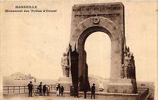 CPA MARSEILLE Monument des Poilus d'Orient ` (405061)