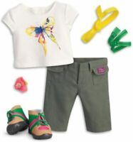 American Girl 2016 Doll Of Year Lea's Lea Hike Hiking Outfit Set Pants top Watch