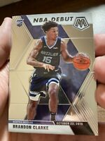 Brandon Clarke 2019-20 Panini Mosaic NBA Debut RC #277 Grizzlies Read PWE!