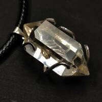 Top Quality Herkimer Diamond Quartz Crystal Pendant Healing Gift 7g