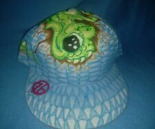 Custom Painted Baseball Cap, Dragon, Snap-back, Unique Designs, One of a kind