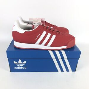 Adidas Originals Samoa Shoes Mens size 10 Sneakers Red White EG6087