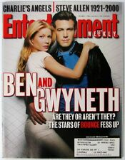 Entertainment Weekly 568 Nov 10 2000  Ben Affleck Gwyneth Paltrow  OutKast