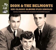 Dion and The Belmonts 6 Classic Albums Plus Singles 4 CD Album Real Gone