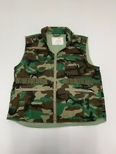 Men's Rothco Ranger Vest Green Camouflage Army Military Large
