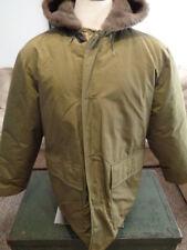 Eddie Bauer Polar Parka Vintage Wool Lined Hood Down Coat Jacket Mens XL X-Large