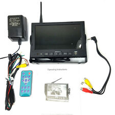 Wireless 2.4Ghz Receiver 7 inch COLOR TFT LCD Monitor Car CCTV Rear View Screen