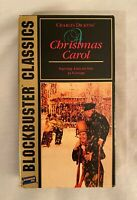 Charles Dickens' A Christmas Carol (1951) VHS - Blockbuster Video Classics