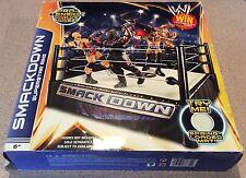 2013 SmackDown SuperStar Ring + 2 Wrestling Figure - New