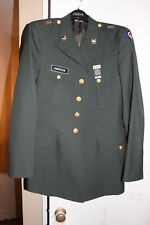 GENUINE US ARMY UNIFORM COAT SIZE 39 Long REGULAR SHADE AG 489 GREEN
